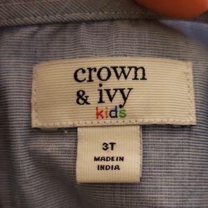 crown & ivy Shirts & Tops - Crown & Ivy Blouse, 3T